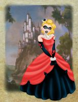 Disney Princess Harley Quinn by BrowncoatFiction