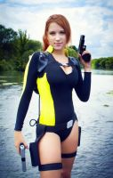 Tomb Raider-wetsuit by AlenLav