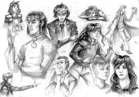 sketches by m-z-k