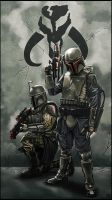 Mandalorians by digitalinkrod
