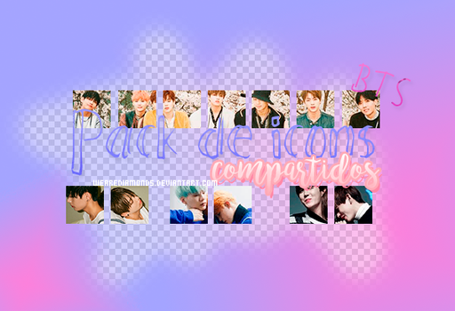 Pack de icons compartidos/BTS by WeAreDiamonds