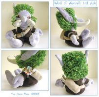 World of Warcraft Troll Plush by restlesswillow