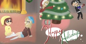 Oh, the weather outside is frightful.. by iGingie