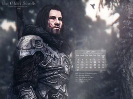 TES August 2014 Wallpaper by DerekClyde