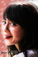 Nabilah JKT48 Smudge Painting by SaintOfArt