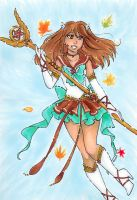 Sailor Deneb for Toto-the-cat by nickyflamingo