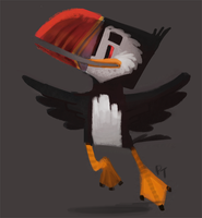 DAY 398. Puffin by Cryptid-Creations