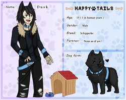 Happy Tails : Dusk by crazyDoggy
