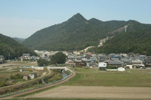 Japanese rural town by Stangace20