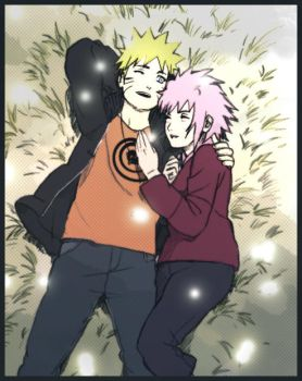 NaruSaku by KillingTheName