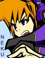 Neku Sakuraba lineart (Coloured) by XxShi-no-TenshixX