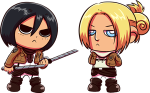 Attack on Cuteness by angieness