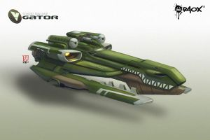 WhiteHole: Gator Ship by raoxcrew