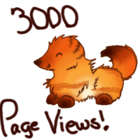 3000 Pageviews by TehLeetSheep