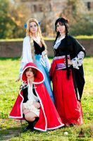 Three witches - Zone 00 by shafry