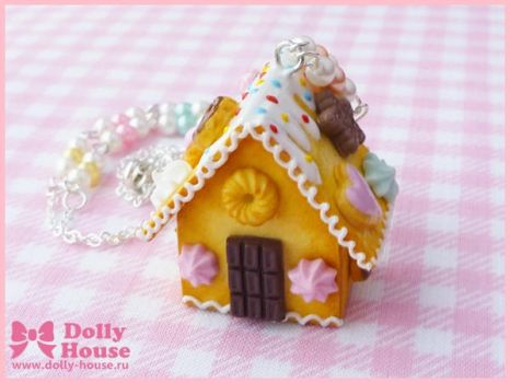 Sweet House Necklace by Dolly House by SweetDollyHouse