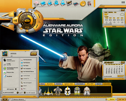 Star Wars Alienware Desktop by a666a