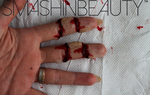Cut Finger SFX Makeup Halloween Makeup Tutorial by smashinbeauty