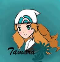 trainer tamara with background by khfanT
