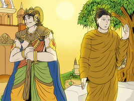 Lord Siddhartha or Gautama Buddha by VachalenXEON