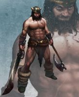 Barbarian by marcosharps