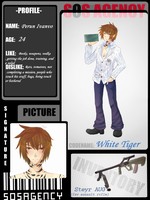 White Tiger.:SOSA APP:. by YoshinoClan1