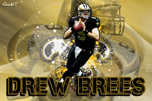 Drew Brees by R0mainT