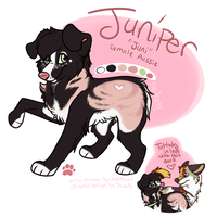 Juniper Sophia Keefe by xWolfPrincex