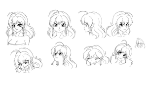 Shiori's Model Sheet Part 1 by wbd