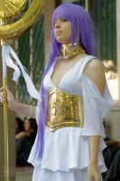 Sasha/Atena - Saint Seiya the Lost Canvas by mariideathy