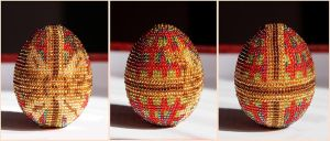 Easter eggs: ribbon by Lleye