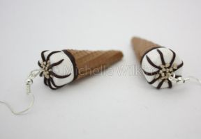 Cornetto Earrings by DragonsDust