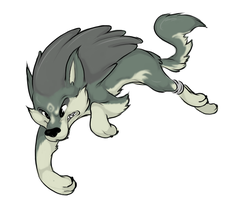 wolf link by saeleagrace