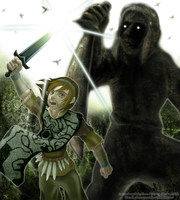 Pewdiepie - Shadow of the Colossus by Xous54