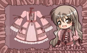 Sweet Lolita design by snowbunnyluv