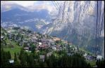 Cable Car Murren Switzerland by AndySerrano