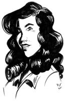 Caricature - Jennifer Connely by teague