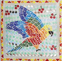Jenday conure - table 11 by SamanthaJordaan