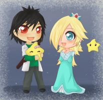 + Request - Rosalina n Dimitry by Gnomiee