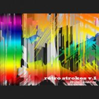 Retro Stroke Brushes by analeewon
