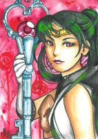 Sailor Pluto by ravenoath