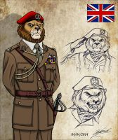 Shadow commandos : Sir John McArthur by RaynalJacquemin