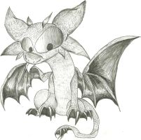 Toothless Sketch by PlagueDogs123