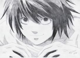 Lawliet - Sweetest Smile by FlyingDragon04