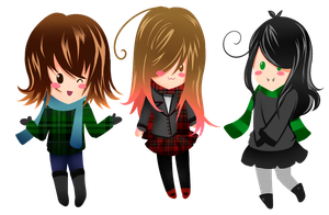 Chibi - Kwinchestter, Me and Vodkatan! by Maggie-and-Day