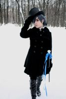 Ciel Phantomhive: Winter walk by MilordCiel