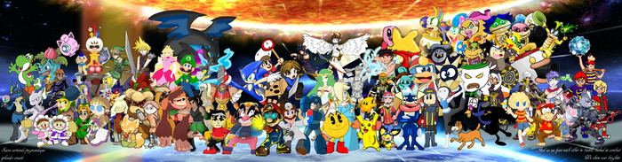 Collab #1: Smash Bros: Fighters United by Xero-J