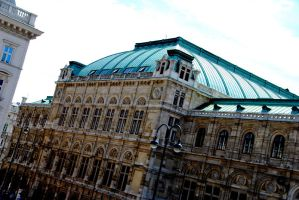 Vienna State Opera (Back of building) by sleepingFrog