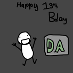 DA's 13th Birthday by MG64ALT