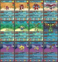 Digimon TCG by hitmonchu